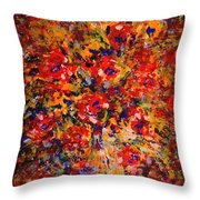 Floral Feelings Throw Pillow
