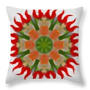 Floral Flare Throw Pillow