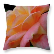 Floral Glow Throw Pillow