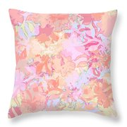 Floral Menagerie Throw Pillow