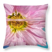 Floral 'n' Water Art 6 Throw Pillow