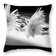 Floral No3 Throw Pillow