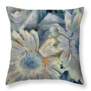 Floral Vegged Out Wow Throw Pillow