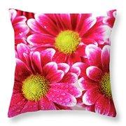 Floral Wallpaper Throw Pillow