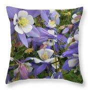 Floral3 Throw Pillow