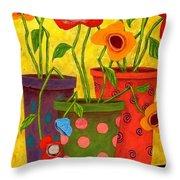 Floralicious Throw Pillow