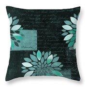 Floralis - 8181cd Throw Pillow