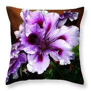 Florals Throw Pillow