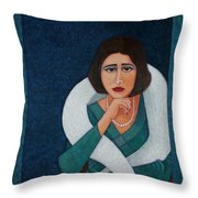 Florbela Espanca - There Is A Spring In Every Life  Throw Pillow