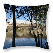 Florence Moods, 2849, Ix/2014 Throw Pillow