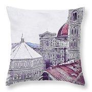 Florence - 19 Throw Pillow