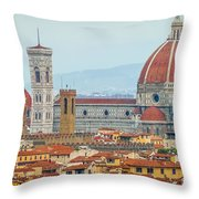 Florence And The Roofs Throw Pillow