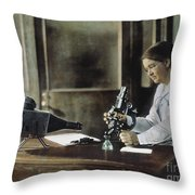 Florence Rena Sabin Throw Pillow