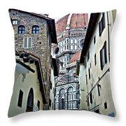 Florence Street Throw Pillow