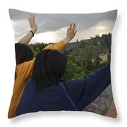 Florence, Tuscany, Italy, Small Group Throw Pillow