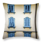 Florentine Shutters Throw Pillow