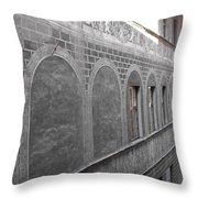 Florentine Stone Graffiti 2 Throw Pillow