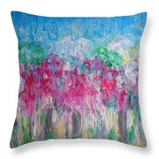 Florescence Throw Pillow
