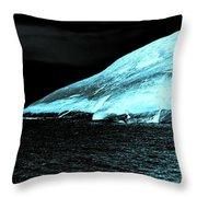 Fluorescent Rock Throw Pillow