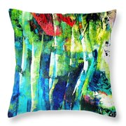 Floresta Amazonica Throw Pillow