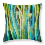 Floresta Verde  Throw Pillow