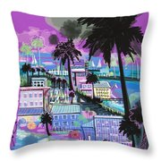 Florida 2 Throw Pillow