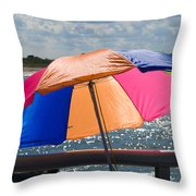 Florida Afternoon Throw Pillow