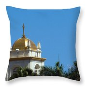 Florida Church Throw Pillow