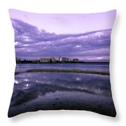 Florida Clouds Throw Pillow