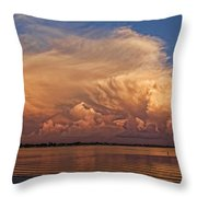 Florida Cloudscape Throw Pillow