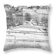 Florida Coastal Living Work G Throw Pillow