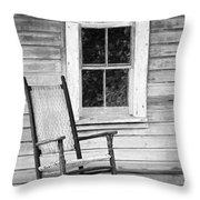 Florida Cracker House Throw Pillow by Patrick M Lynch