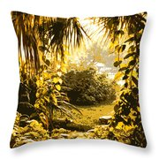 Florida Dream Throw Pillow