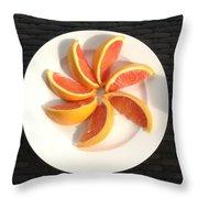 Florida Fruit Throw Pillow