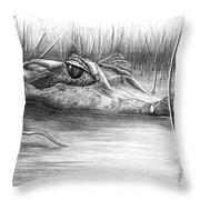 Florida Gator Throw Pillow