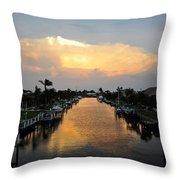 Florida Life Style Throw Pillow