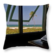 Florida Lunch Throw Pillow