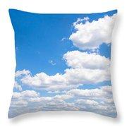 Florida Sky - Tallahassee, Florida Throw Pillow