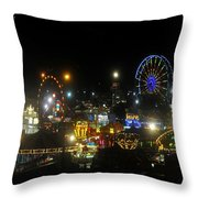 Florida State Fair 2010 Throw Pillow