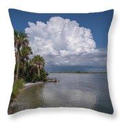 Florida Mountains Throw Pillow