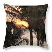 Florida Sunset 2 Throw Pillow