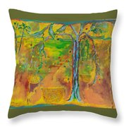 Florida Sushine Throw Pillow