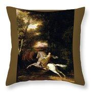 Florimell Flight Throw Pillow