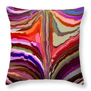 Flourish Again Throw Pillow