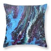 Flow 61 Throw Pillow