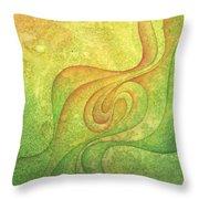 Flow #9 Throw Pillow