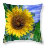 Flower # 37 Throw Pillow