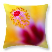 Flower - Stamen 2 Throw Pillow