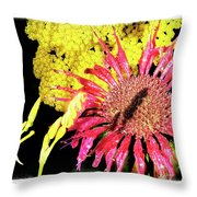 Flower 23af, Ny, 16 Throw Pillow