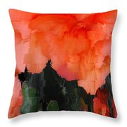 Flower 3 Throw Pillow